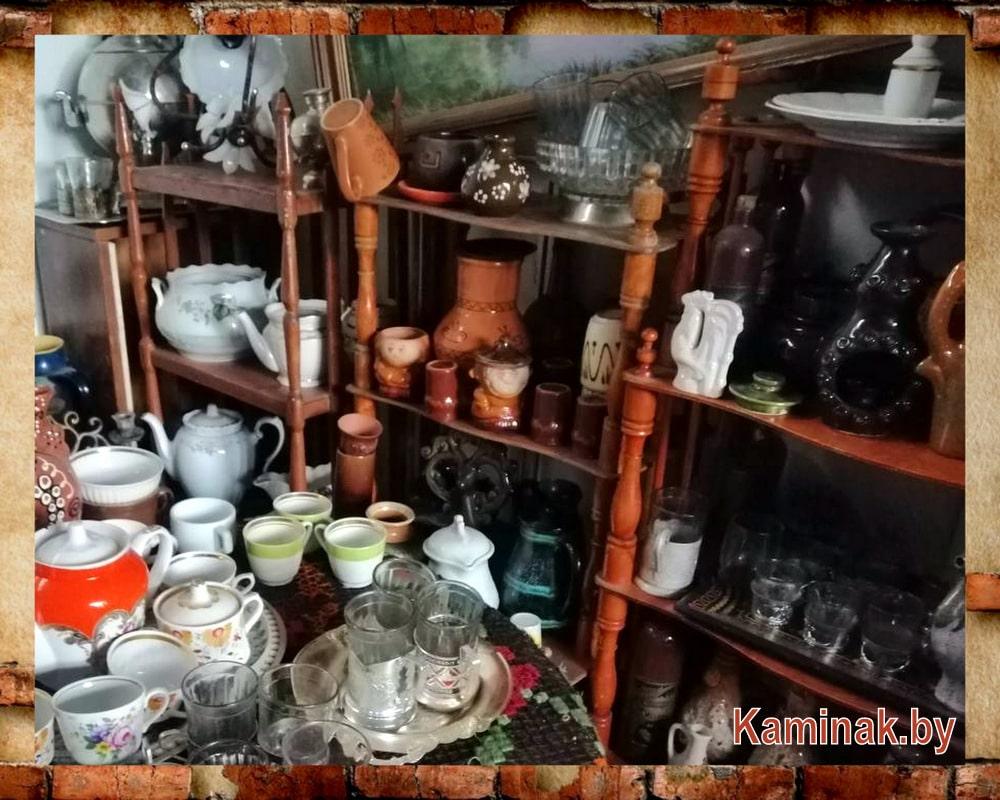 Экспозиция Музея быта и истории Гродно