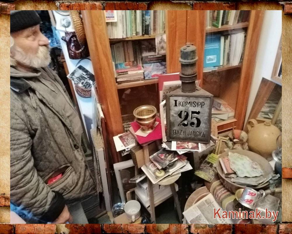 Экспозиция редких вещей в Музее быта и истории Гродно