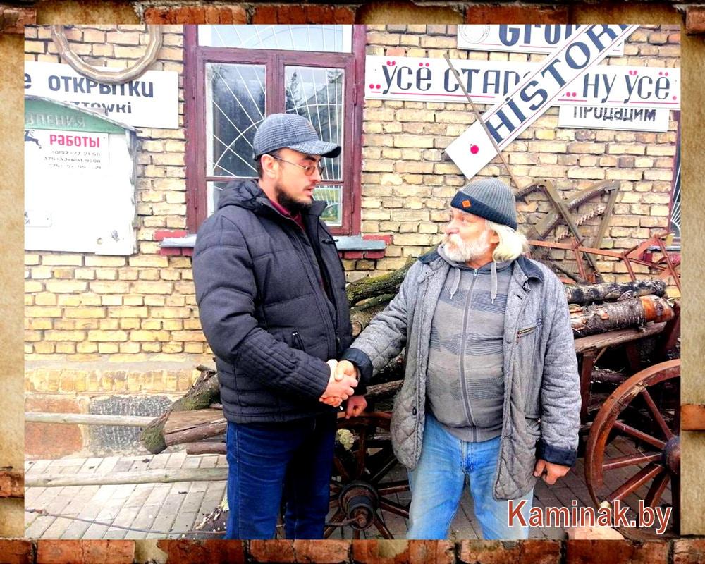 Евгений Красовский и Януш Парулис