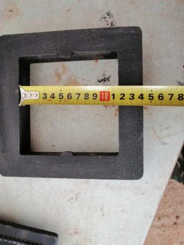 Размер прочистного окна Везувий 235