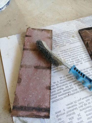 Как облицевать печь искусственным камнем своими руками